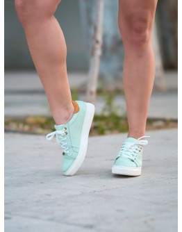 SNEAKERS ΠΡΑΣΙΝΑ HAWAII ANASTASIA SHOES